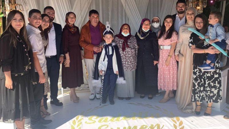 Yaşar Yinelek'in torunu sünnet oldu