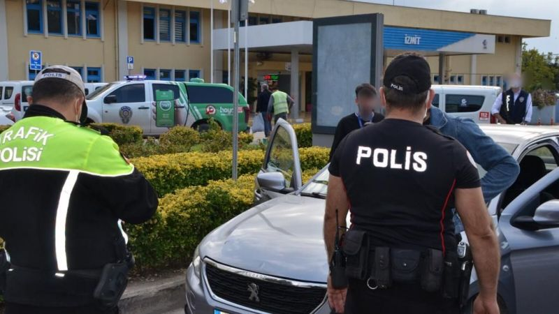 Kocaeli'de tedbirlere uymayan sürücülere ceza yağdı