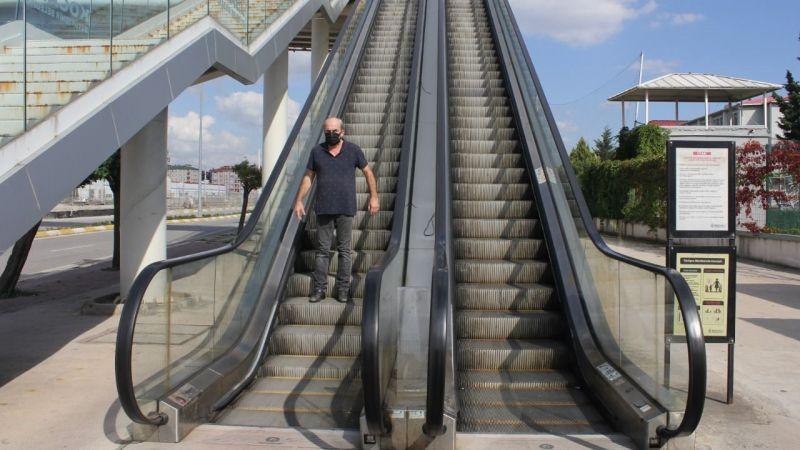 Yürüyen merdiven ve asansör çalışmıyor