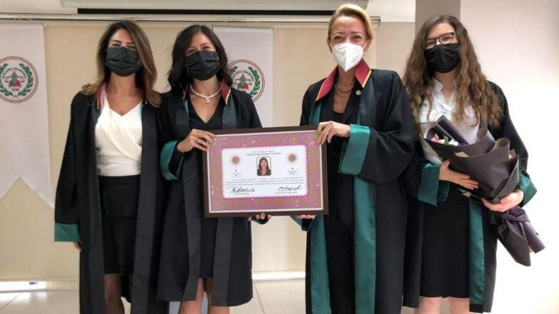 Baro bünyesine yeni avukatlar katıldı