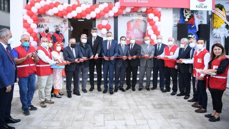 Kartepe'de Kızılay Şubesi hizmete açıldı