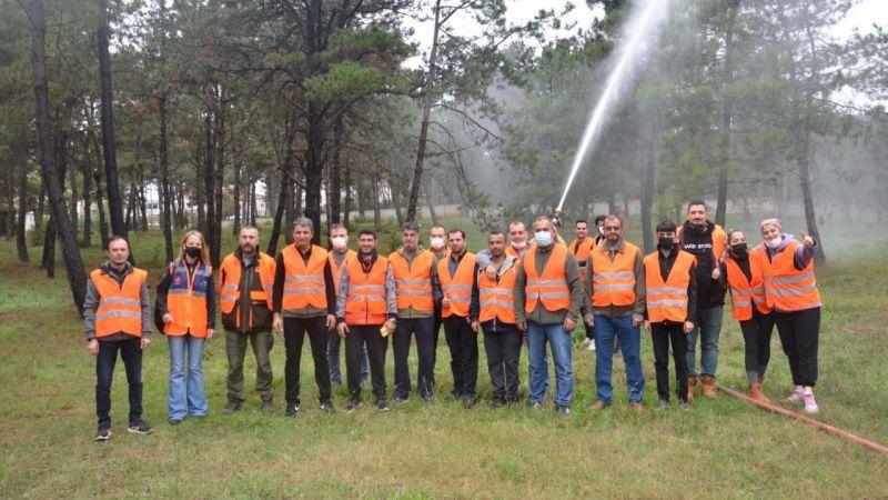 Orman yangınlarına bu gönüllüler müdahale edecek