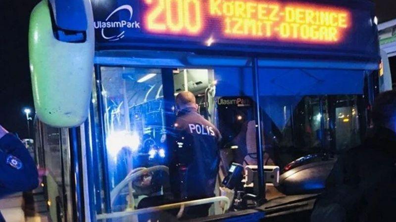 Pes dedirten olay! Korona hastası otobüsten inmeyi reddetti