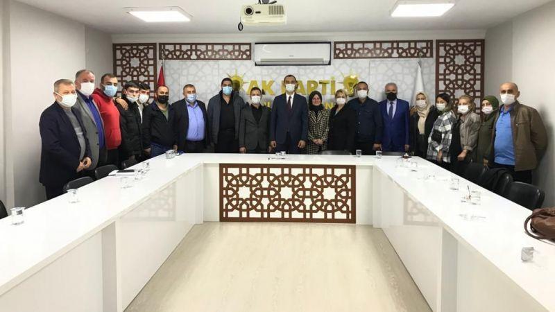 AK Parti İzmit'te hareketli günler