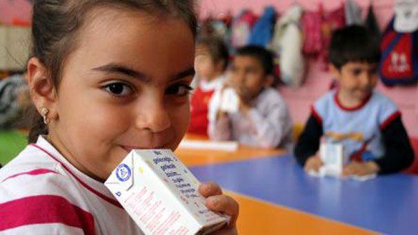 Öğrencilere Süt Dağıtımı Haftada 3 Kez Yapılacak