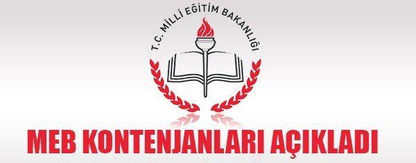 MEB 2014 Eylül Öğretmen Atama Kontenjanları Açıklandı
