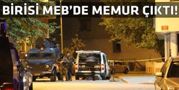 Polisleri şehit eden teröristlerden biri memur çıktı!