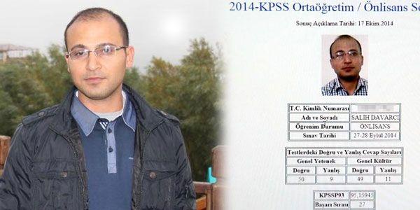 Çalışan hizmetlinin KPSS'de süper başarısı