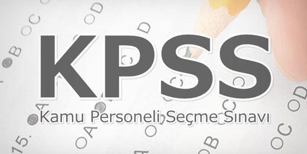 KPSS branş sıralaması açıklandı