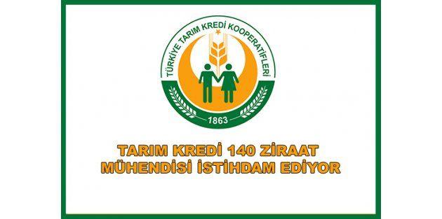 Tarım Kredi Kooperatifleri 140 Ziraat Mühendisi Alım İlanı