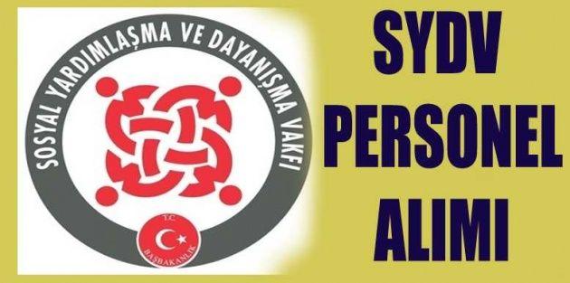 Amasya Göynücek SYDV Personel Alım İlanı