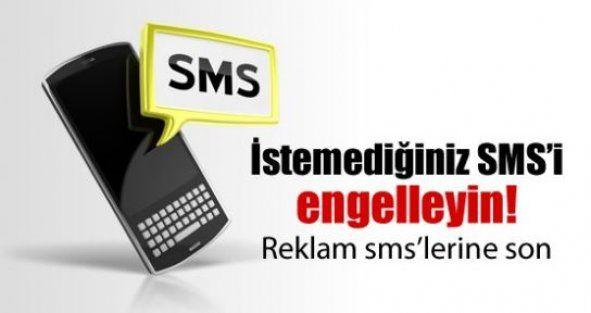 İstenmeyen SMS'ler nasıl engellenir?