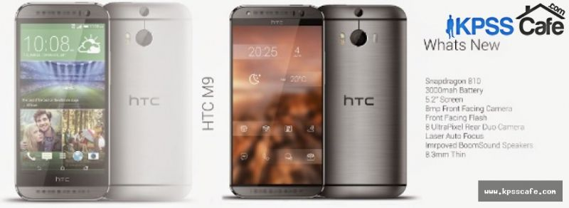 HTC One M9'un Plus'ı geliyor
