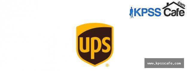 UPS Cari Hesap Mutabakat Memuru Alım İlanı