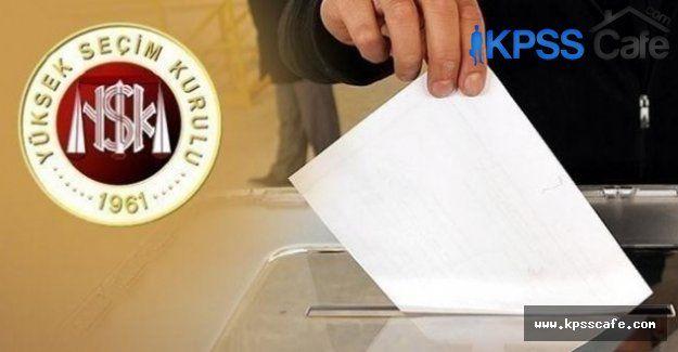 2015 Milletvekili Genel Seçim Takvimi açıklandı