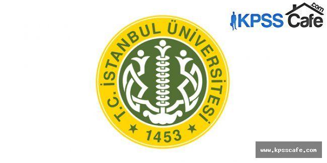 İstanbul Üniversitesi 4/B Sözleşmeli Personel Alıyor