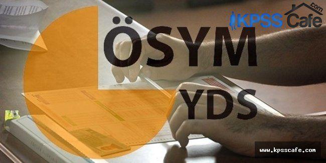 ÖSYM'den Açıklama: 2015/2 e-YDS Başvuruları Başlıyor