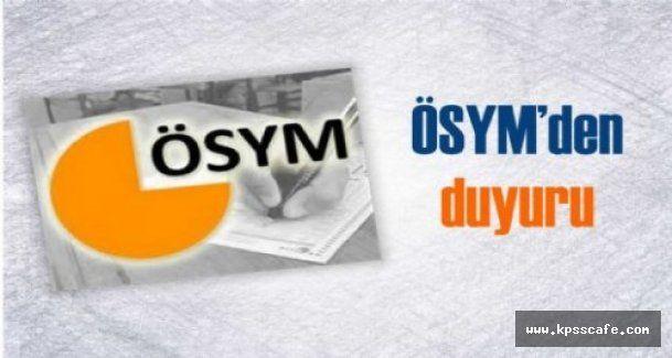 """ÖSYM'den """"açık uçlu sorularla sınav"""" açıklaması"""