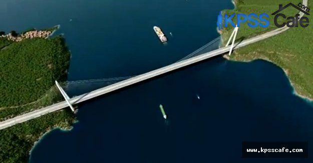 Üçüncü köprünün ismi Recep Tayyip Erdoğan Köprüsü Olacak