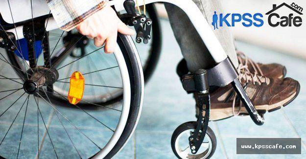 Engelli Operasyonel Destek elemanı alımı