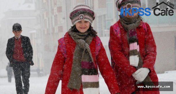10 Şubat 2015 Okulların kar tatili olduğu iller