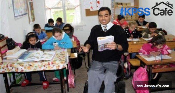 Engelli Öğretmenlik Başvuruları 18 Şubat'ta Başlıyor