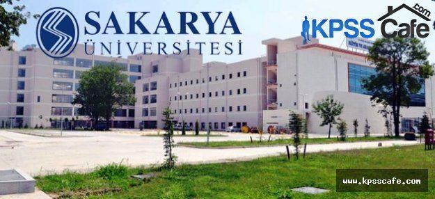 Sakarya Üniversitesi Sözleşmeli Personel Alacak