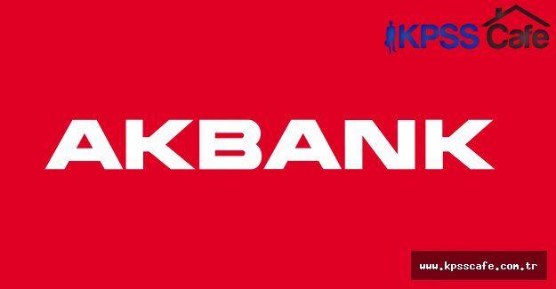 AKBANK Finansal Raporlama Yönetici Yardımcısı Alımı