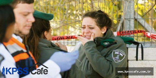 İsrail Kadın Polislerine Araçla Saldırı Düzenlendi