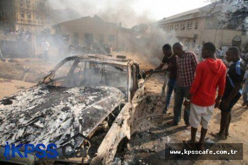 Nijerya'da Terör Olayları 50 Can Aldı