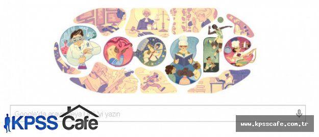 Google 8 Mart Dünya Kadınlar Gününü Unutmadı