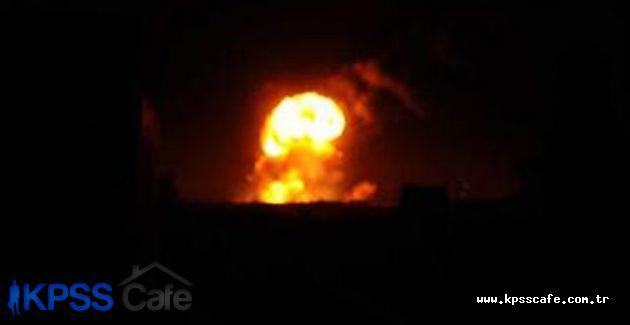 IŞİD'e sınırda bombalı saldırı düzenlendi