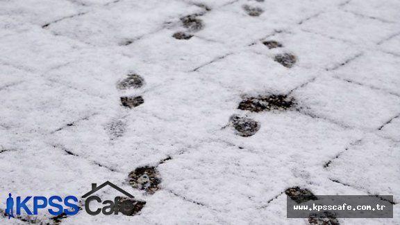 İstanbul'lular güne kar yağışı ile başladı