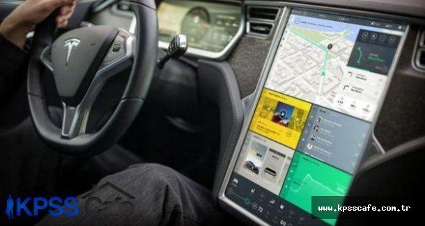 Tesla Model S iç paneli tanıtıldı