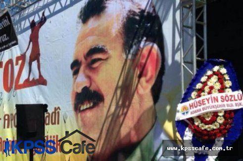 Tesadüfün bu kadarı! MHP'li başkanın çelengi HDP'nin nevruz kutlamasına gitti