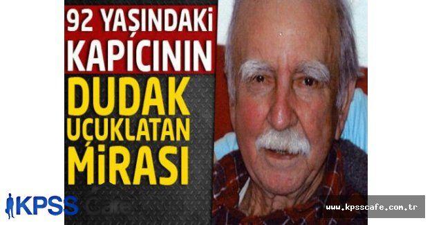 92 yaşındaki trilyoner kapıcının mirası ağızları açık bıraktı