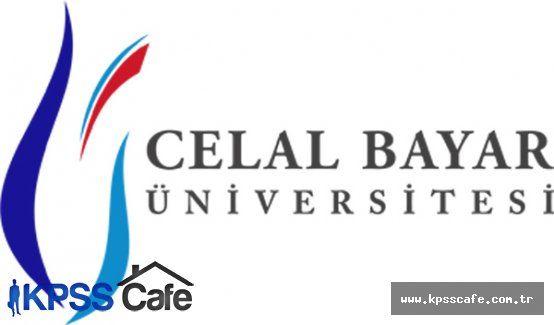 Celal Bayar Üniversitesi Sözleşmeli Personel alacak