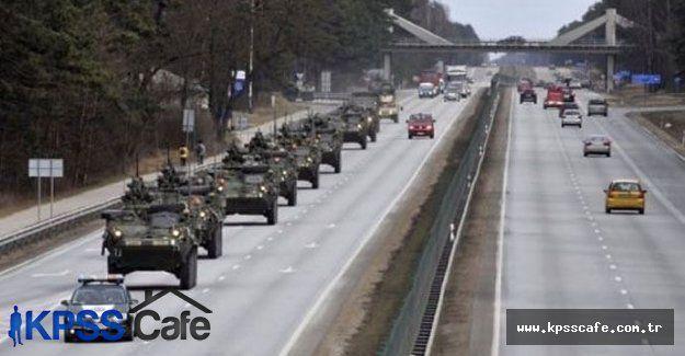 Amerikan ordusundan Ruslara gözdağı