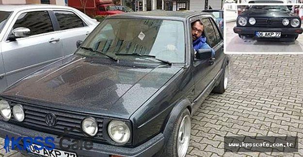 06 AKP 77 plakalı araç Sahibinden.com'da 299 bin liraya satılıyor