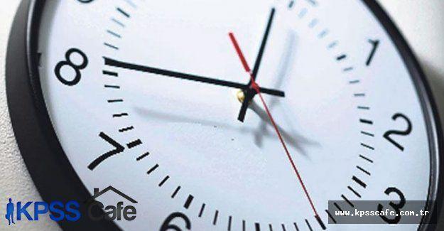 Yaz saati uygulamasına geçerken dikkat edin