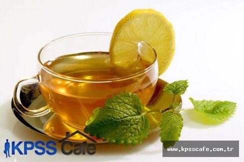 Yeşil çay için gençleşin