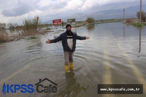 Baraj Kapakları Açıldı Nehir Taştı!
