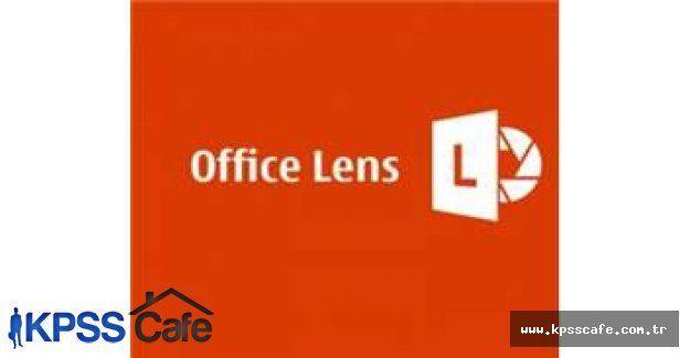 Office Lens Android için yayınlandı