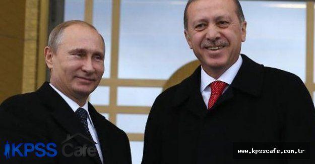 Erdoğan'dan Putin'e Telefon