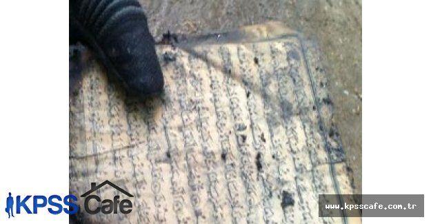 Herşey Yandı Kur'an-ı Kerim Yanmadı