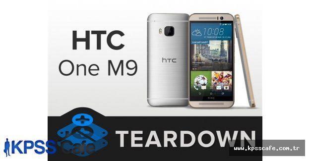 HTC One M9 parça parça oldu