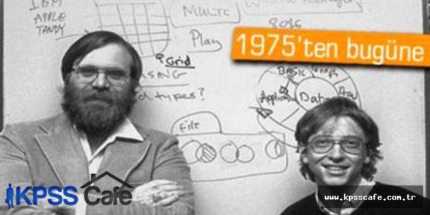 Microsoft şirketleri 40 yaşına girdi