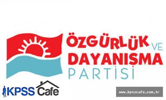 Özgürlük ve Dayanışma Partisi (ÖDP) 7 Haziran Seçimlerinden Çekildi!