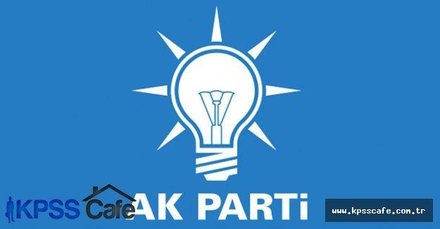 AK Parti Yozgat İl Milletvekili Sıralı Aday Listesi