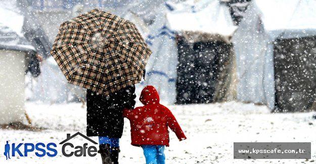 Sürücüler Dikkat! - Bugün Kar Yağışı Olacak! - 08-04-2015
